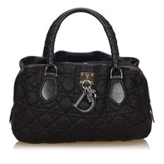 Dior - Nylon Cannage Handbag