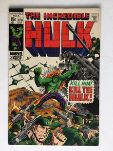 Marvel Comics - The Incredible Hulk #120 - 1x sc - (1969)