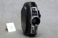 Duca Durst 1947-1952, 12 exposures on Agfa Karat cassettes Compact camera, viewfinder - telescopic type lens Ducar f11/50 mm, meniscus type, shutter guillotine type, speeds 1/30 – B, dimensions approx. 110x80x 40mm