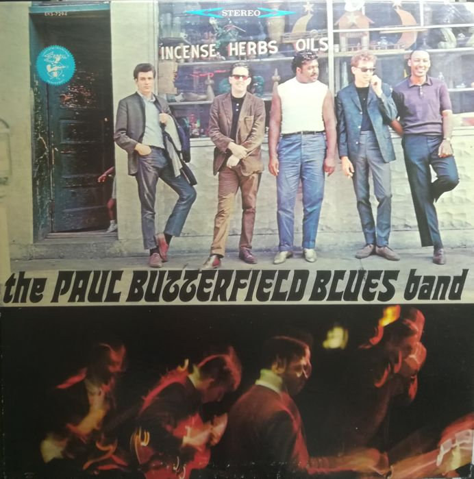 4 LPs - Paul Butterfield Blues Band (1965 - 1967 - 1970 - 1979)