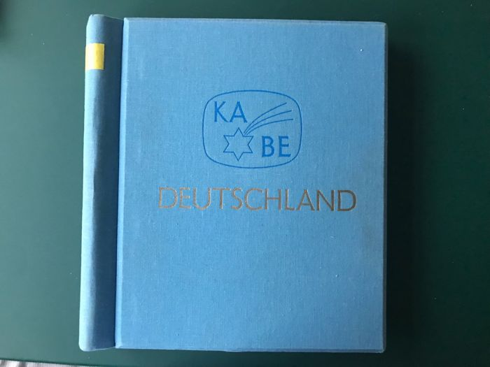 Federal Republic of Germany 1956/1974 - Complete collection in clamp binder - Michel 227/825
