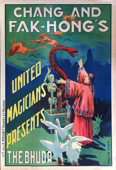Anonymous - Chang and Fak-Hong's United Magicians presents The Bhuda - 1928