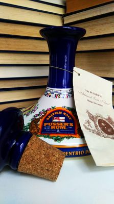 Pusser's British Navy Rum - Admiral Nelson Ship's Decanter - Bottled 2005 - 1 .0 litre & 47,75%