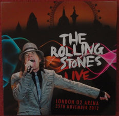 The Rolling Stones - Live O2 Arena- Bx set -Limited Edition 4 LPs, 2 CDs; 1 DVD