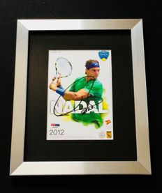 Rafael Nadal #1 - Amazing Authentic Signed Autograph in Framed Photo ( 20x25cm ) - with Certificate of Authenticity PSA/DNA