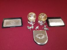 Lot of 8x silver items - Origin Italy - Silver