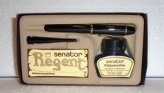 Vintage Senator Regent Fountain pen + piston filler + ink in original box