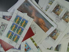 Czech Republic and some Czechoslovakia 1980/2006 - 182 pieces and 91 various blocks and sheetlets in complete issues
