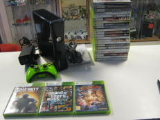 Microsoft X-box 360 + 250GB harddrive including 25 games like: Black ops 3,GTA V, Street fighter,etc,etc