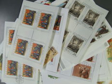 Slovakia, Czech Republic and some Czechoslovakia 1980/2006 - 186 various blocks and sheetlets in mostly complete issues