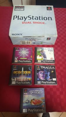 PlayStation BOXED - 5 Games