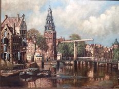Unknown (20th century) - Amsterdam cityscape