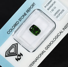 Diopside – 1.52 ct