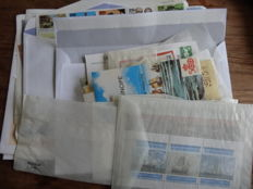 Ship topical - (Old) new ones in sachets and box with around 350 FDCs and postal items