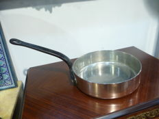 large and thick professional copper pan
