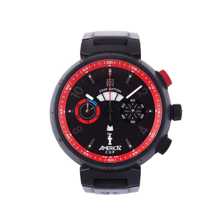 Louis Vuitton Tambour America Cup Limited 720 Pric - A75493 - Heren