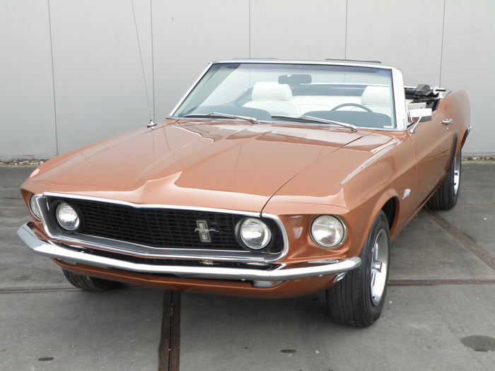 Ford - Mustang cabriolet - 1970