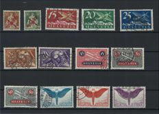 Switzerland 1919/1950 - Nearly-complete collection of airmail stamps including ones signed Brun