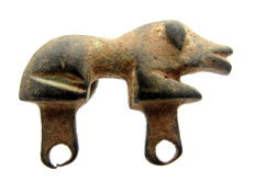 Ancient Roman Zoomorphic / Animal Brooch Shaped as a Lion - WEARABLE GIFT & BAG INCLUDED - 30 mm