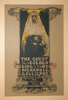 Ethel Reed (1874 - 1925) The quest of the golden girl 1895-1900