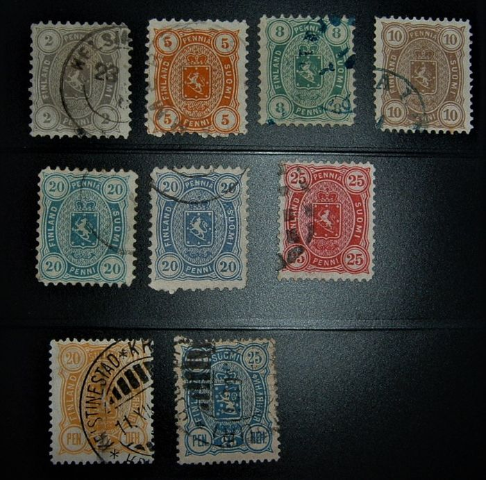 Finland 1875/1973 – small selection