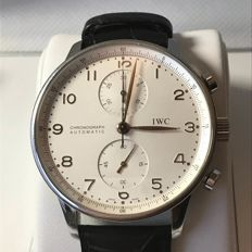 IWC - Portuguese Chronograph - IW3714 - Heren - 2000-2010