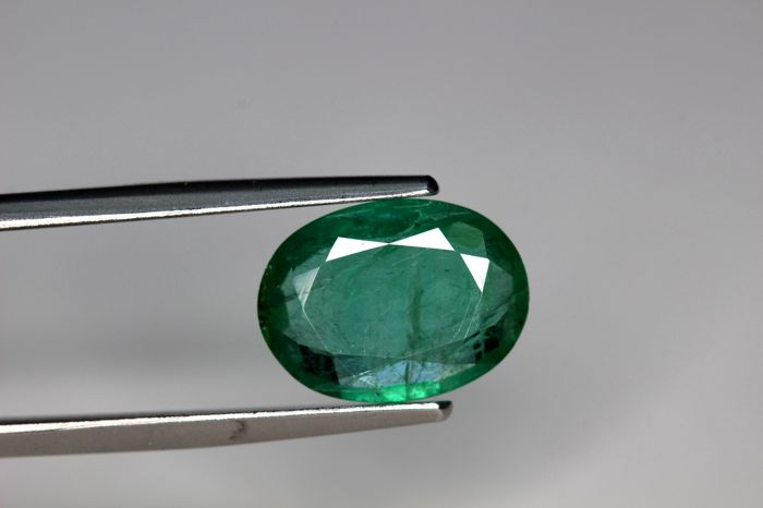Emerald – 2.41 ct – Intense Green – No Reserve Price