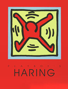 Keith Haring - Playboy Red edition -1991