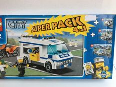 City - 66375 - Superpack Politie 4 in 1