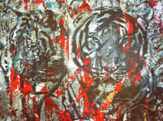 Felix von Altersheim - Tiger - Mum and Son - Urban Collage