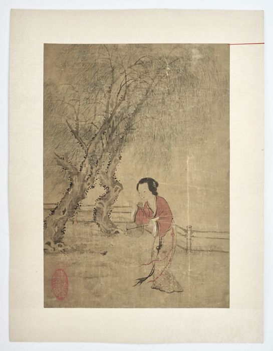 Painting of a Beauty - China - 18th/19th Century