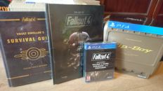 Ultimate Fallout 4 Package - PipBoy Edition+game+steelbook+Hardcover Guide & Art Book - PlayStation 4