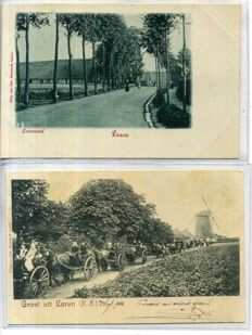 The Netherlands, Gooi & Vecht-region, 1900-1950; 92x
