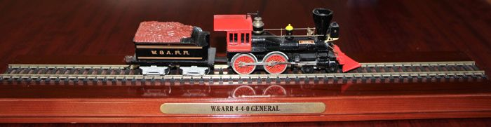 Mantua H0 - Stoomlocomotief met tender - Western & Atlantic Railroad (W. & A.R.R.)