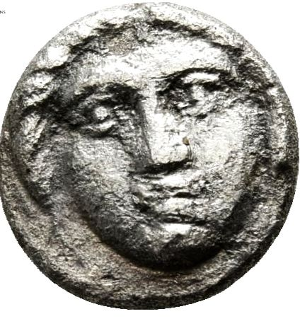 Ancient Greece - Thrace, Apollonia Pontika, Diobol, 350 BC 0.90 g / 10 mm