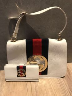 Gucci - Blondie Flap Bag and Purse