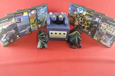 Nintendo Gamecube with 9 games like Star Wars Rebel Strike, Wave Race, Need for Speed and more
