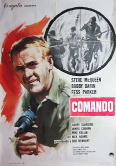 Map - Command (Hell is For Heroes; Steve Mcqueen)-1966