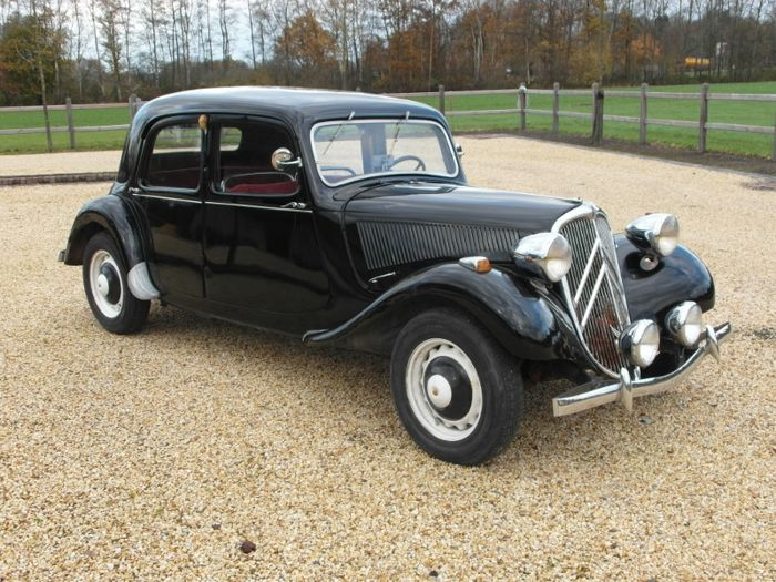 citroen traction avant l g re sport 1949 catawiki. Black Bedroom Furniture Sets. Home Design Ideas