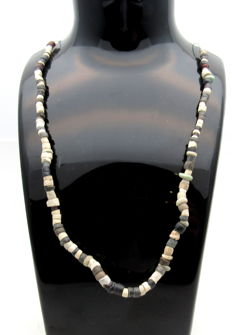 Viking Period Stone Beaded Necklace- 420 mm