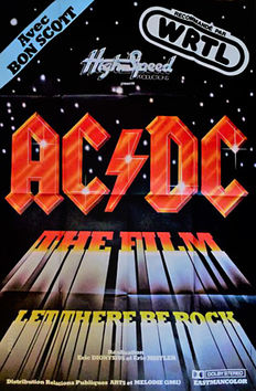 AC/DC Let there be rock (movie) - 1980