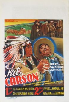 Fighting with Kit Carson (Victor Jory, 1933) - 1940s