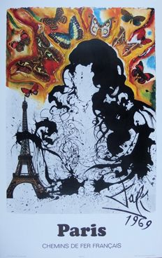 Salvador Dali - France : Paris