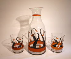 A.J. van Kooten - stained water set