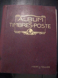 World 1860/1920 - Collection of classic stamps in an Yvert et Tellier album