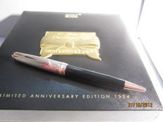 Rare Montblanc Meisterstuck Solitaire Douè in 925 silver Limited edition of 1924 copies 75th Anniversary