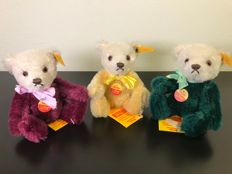 Vintage set of 3 beautiful Steiff Dolly original Teddy Bears - 1991 - Germany