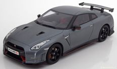 GT-Spirit - Scale 1/18 - Nissan GT-R NISMO R35-  Flat-grey - Limited Edition 1 of 504 pieces