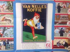 Advertising game of Van Nelle - Het Piggelmeespel - 1923