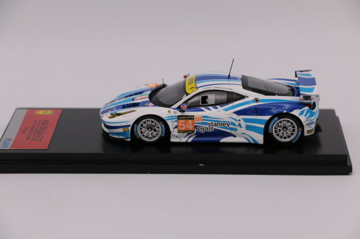 fujimi scale 1 43 ferrari 458 italia gt2 24h le mans 2013 catawiki. Black Bedroom Furniture Sets. Home Design Ideas